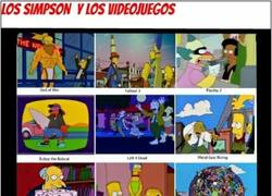 Enlace a Los Simpson y los juegos