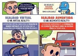 Enlace a ¡Vamo a explicarlo! Diferencias entre realidad aumentada y realidad virtual