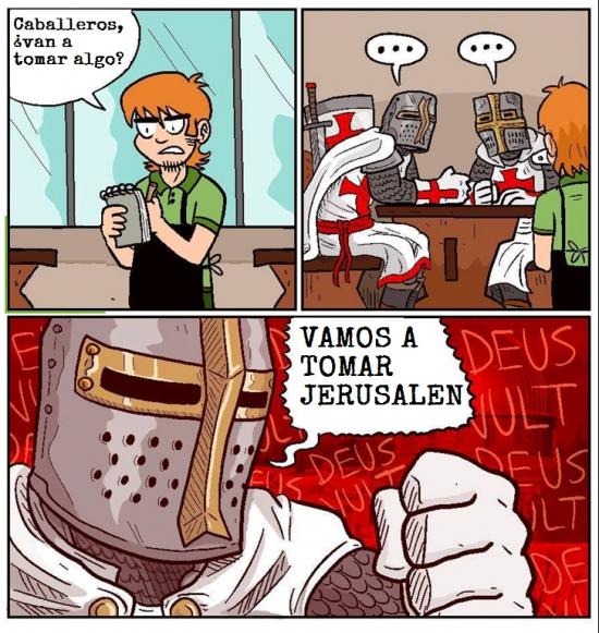 Otros - Los cruzados saben cual es la movida