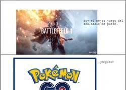 Enlace a La dura competencia de Battlefield 1