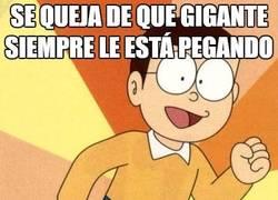Enlace a Nobita el masoquista