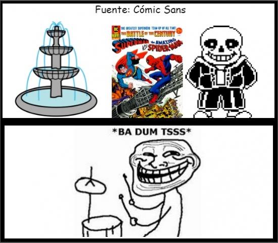 Trollface - Comic Sans
