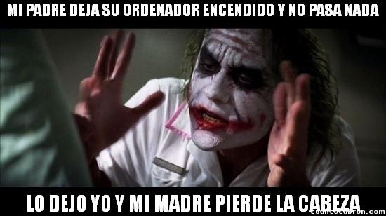 Joker - ¿Por qué solo se enfada conmigo?