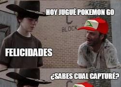 Enlace a Rick siempre troleando a Carl, ahora con Pokémon Go
