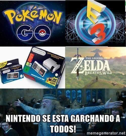 Meme_otros - Nintendo is back
