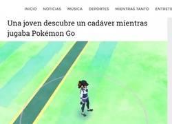 Enlace a El Pokémon en el río