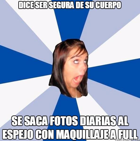 Amiga_facebook_molesta - Ah... narcisismo