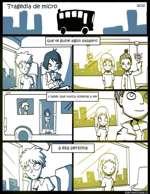 Otros - Lo que a muchos nos pasa cuando vamos en bus