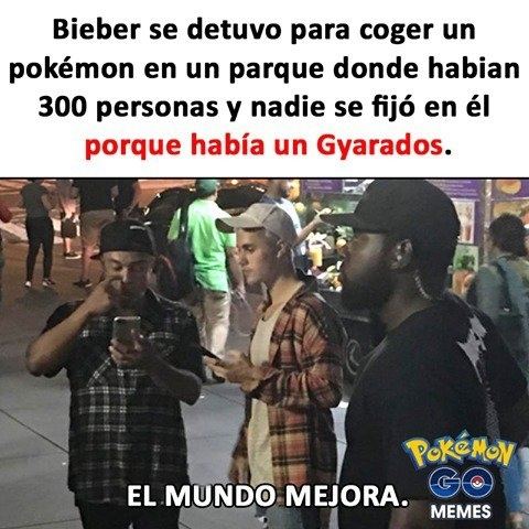justin bieber,mejora,mundo,pokemon go
