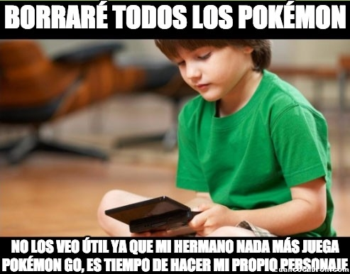 Hermano_pequeno_troll - Este niño va a morir en 3,2,1...