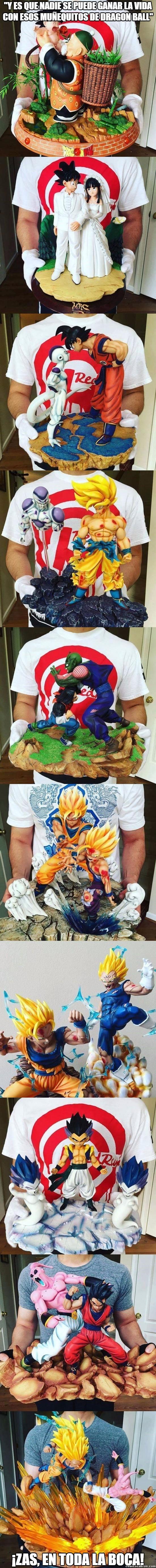 Meme_otros - Figuras de Dragon Ball que darías tu vida por tenerlas