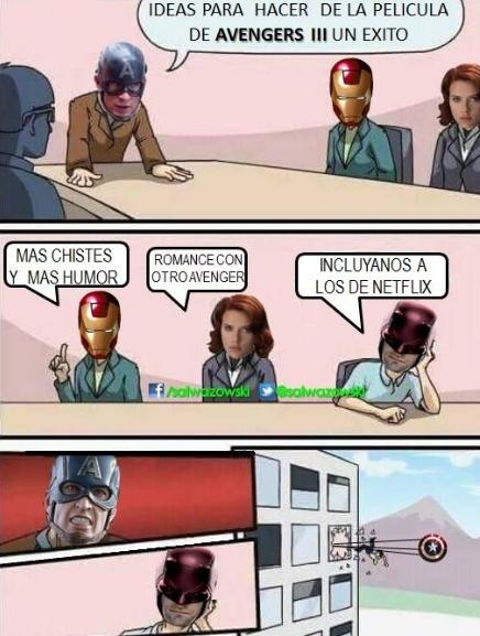Allthethings - Pobres héroes de Marvel en Netflix