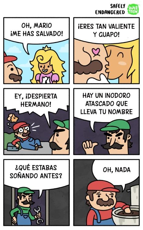 Otros - Pobre Mario :(