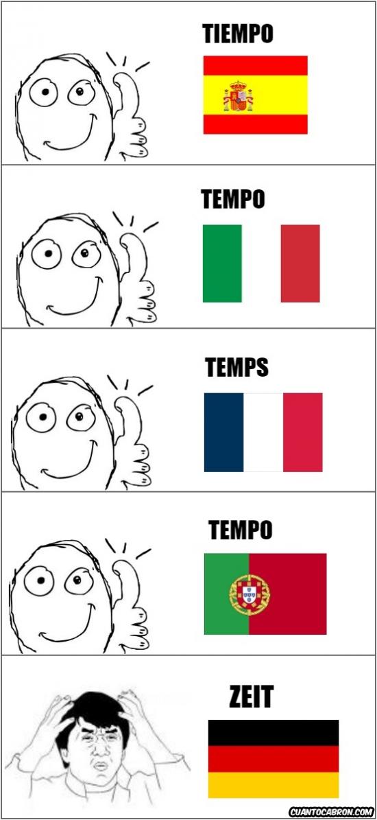 Otros - Los alemanes y su vocabulario