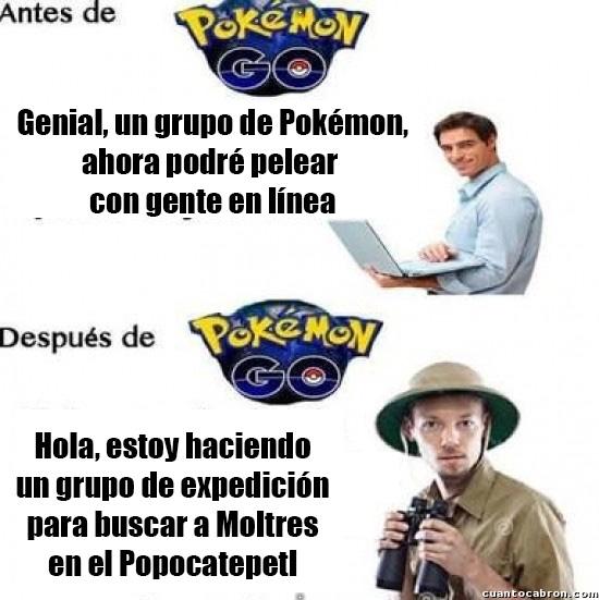 Otros - Pokémon GO cambió todo...