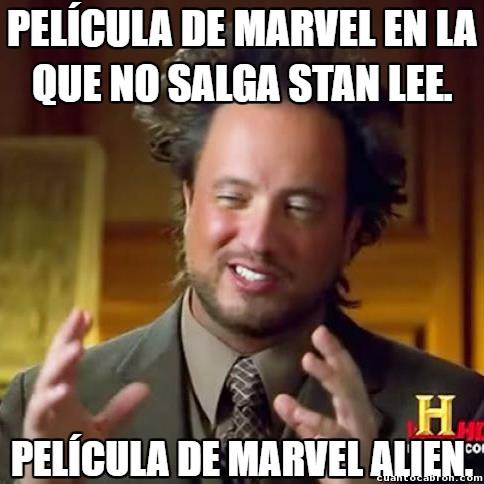 alien,marvel,stan lee