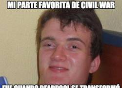 Enlace a La parte favorita de Civil War del Colega Fumado