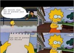 Enlace a Troleando a Lisa en la despedidad