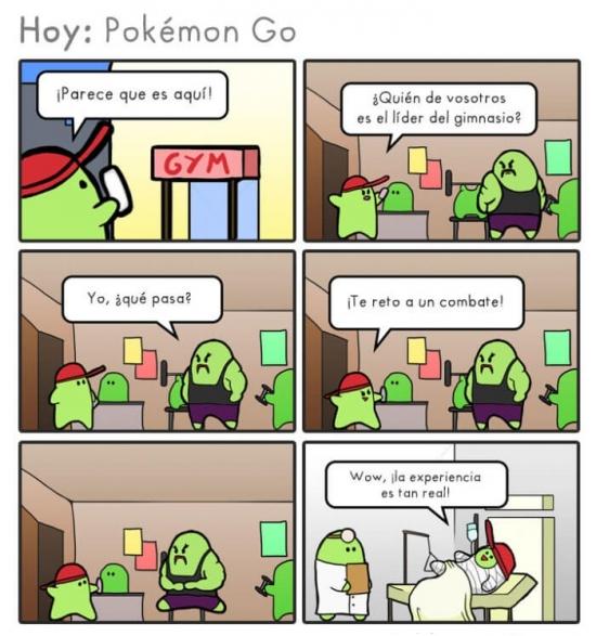 Otros - Pokémon Go, una experiencia muy real
