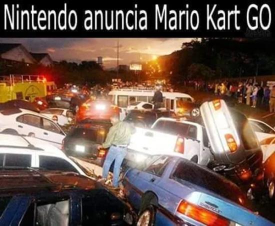 Meme_otros - Cuando Nintendo anuncie Mario Kart Go