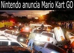 Enlace a Cuando Nintendo anuncie Mario Kart Go
