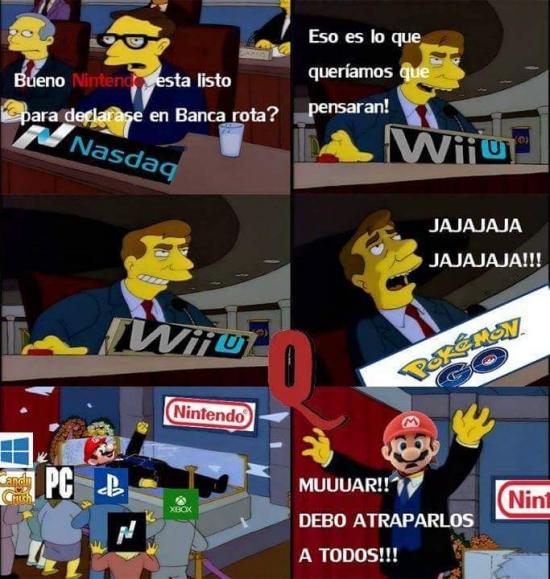 Otros - Todo era un plan diabólico de Nintendo