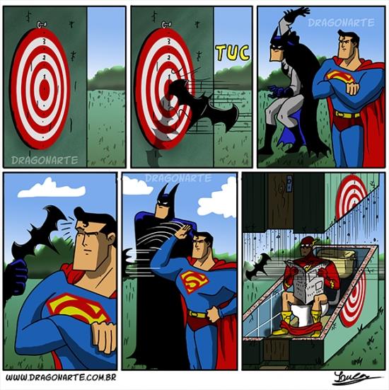 Otros - Por eso no hay que darle nada afilado a Superman