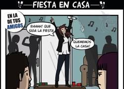 Enlace a Fiesta en casa