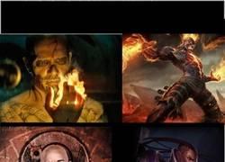 Enlace a Personajes de Suicide Squad vs LoL