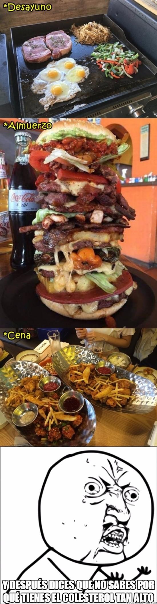Y_u_no - Una dieta muy sabrosa... pero desastrosa