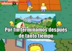 Enlace a Homer haciendo un Turn Down For What
