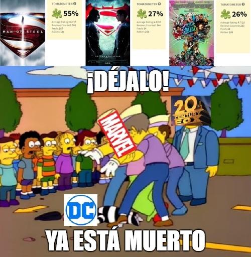 Meme_otros - Como DC siga así con sus películas...