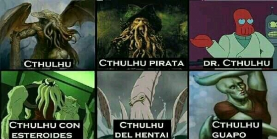 Meme_otros - Hay diferentes Cthulhus