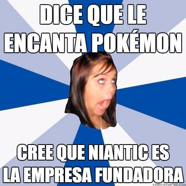 Amiga_facebook_molesta - Cuando te crees la más lista con Pokémon