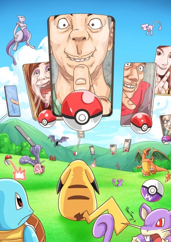 Meme_otros - Así es como nos miran los Pokémon