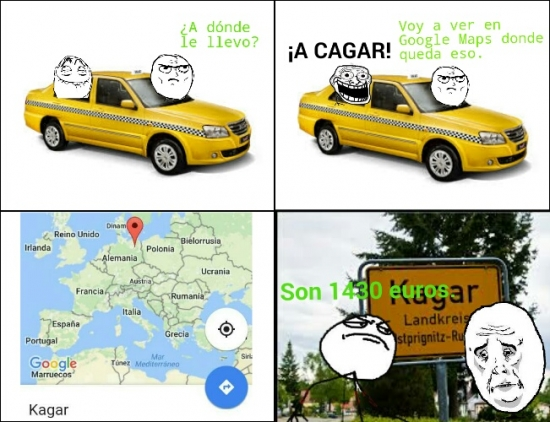 Fuck_yea - Nunca gastes bromas a un taxista
