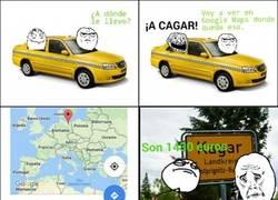 Enlace a Nunca gastes bromas a un taxista