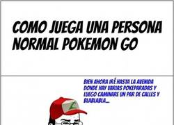 Enlace a No todos juegan Pokémon Go de la misma forma