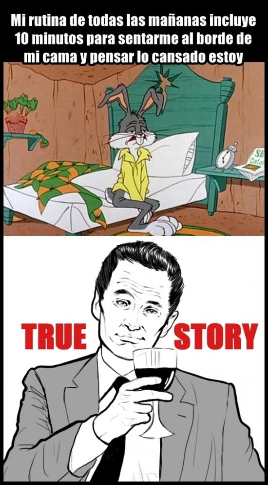True_story - La misma historia todos los días