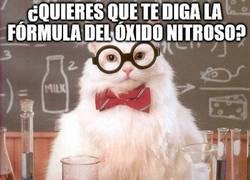 Enlace a La formula del óxido nitroso