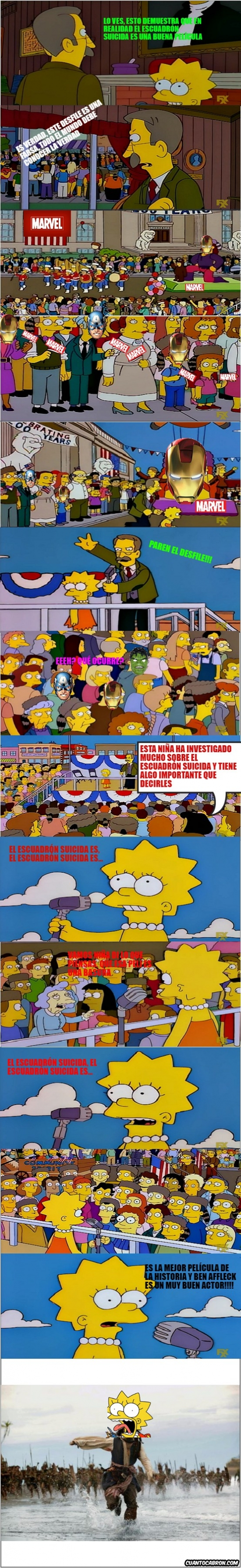 Meme_otros - Lisa posee la verdad absoluta