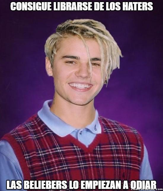 Bad_luck_brian - La vida de Justin Bieber es un drama