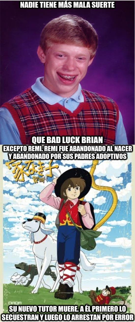 Bad_luck_brian - ¿Se puede ser más desafortunado?