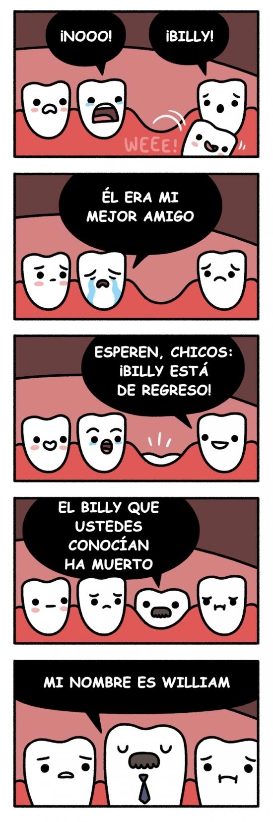 Otros - Cuando cambias los dientes de leche por los definitivos
