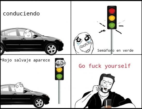 Otros - Siempre nos encontramos con un semáforo así...