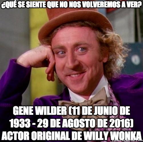 Wonka - Gracias por tantas risas, de parte de CC