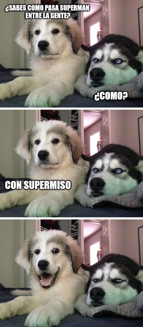 Meme_otros - Superman educado