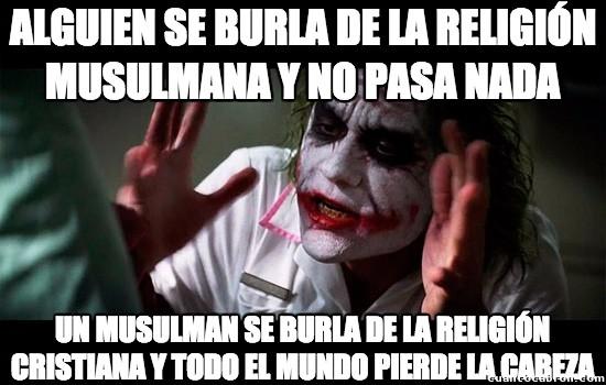 Joker - La religión siempre es así...
