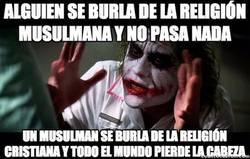 Enlace a La religión siempre es así...