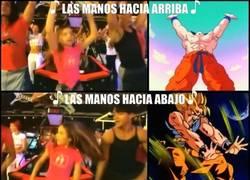Enlace a Goku y el Baile del Gorila